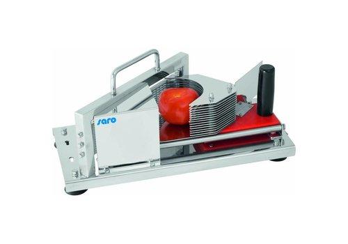 Saro Coupe-tomate à commande manuelle Modèle SEVILLA | L432 x P202 x H210 mm | acier inoxydable