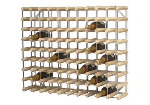 ProChef Casier à bouteilles | Bois | 90 bouteilles