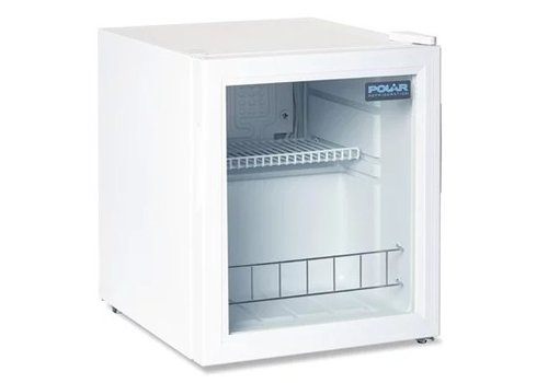 Polar Vitrine réfrigérée de comptoir | 46L | Blanc | 510 x 430 x 480