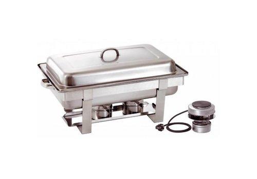 Bartscher Chafing dish 1/1 BP Plus | Acier au nickel-chrome