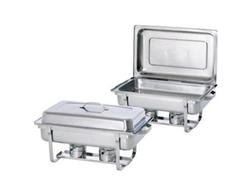 Bartscher Kit de chafing dish 1/1 BP | Acier nickel-chrome | 610 x 355 x 300