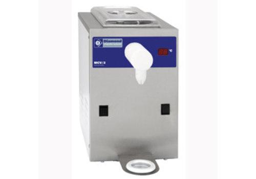 Diamond Machine réfrigérée à chantilly en inox, cuve 2L