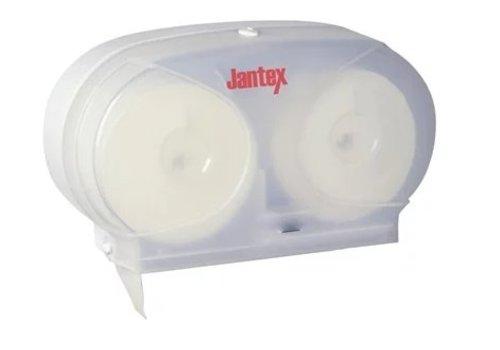 Jantex Double Distributeur de Papier Hygiénique / Sans Mandrin