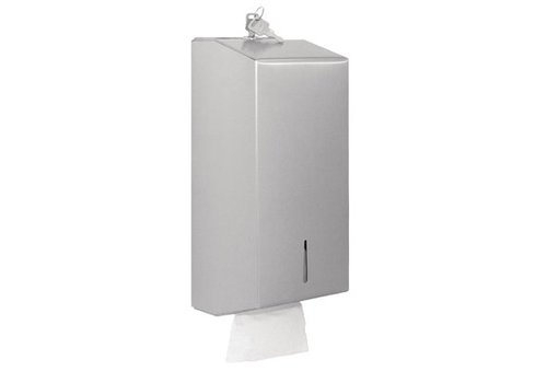 Jantex Distributeur de Papier Hygiénique Enchevêtré / Inox