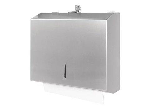 Jantex Distributeur d'essuie-mains en acier inoxydable
