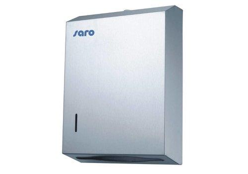 Saro Distributeur D'essuie-Mains Modèle HTD |  280 mm (L) x 102 mm (P) x 280 mm (H)