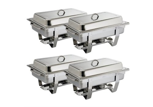 Olympia OFFRE GROS VOLUME Chafing dish Milan Olympia x4