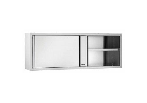 Bartscher Armoire Suspendue | Portes Coulissantes | 1600 (L) x 400 (P) x 660 (H) mm