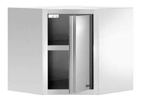 Bartscher Armoire Suspendue | Porte Latérale | 700 (L) x 700 (P) x 660 (H) mm