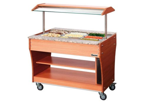 Bartscher Chariot buffet | chaud | 3x 1/1GN