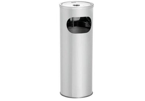 Bartscher Cendrier sur colonne| Acier | 155 x 100 mm