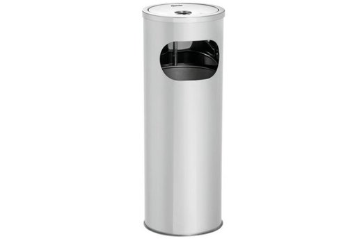 Bartscher Cendrier sur colonne KOMBI11L