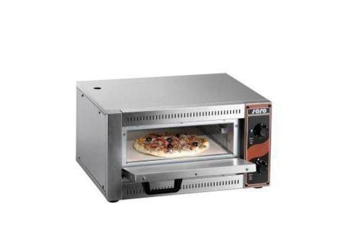 Saro Four À Pizza | L 530 x P 430 x H 290 mm | +50/+320 °C | acier inoxydable