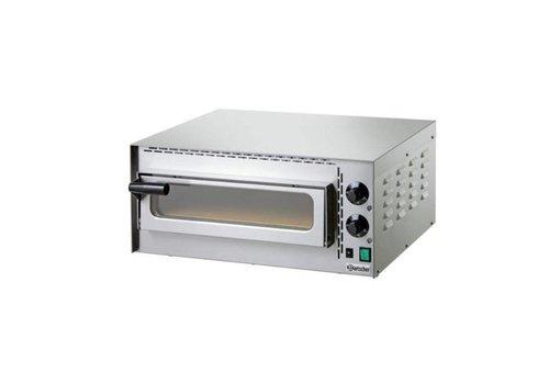 Bartscher Four pizza   2 kW   575 x 525 x 270 mm   0 °C a 400 °C   Acier inoxydable