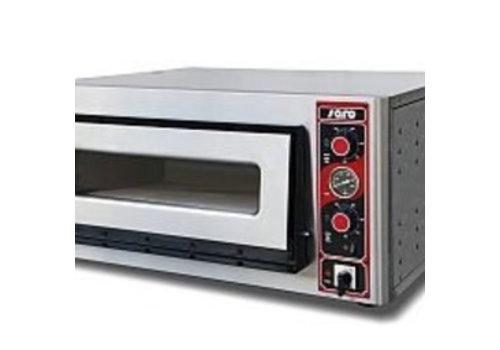 Saro Four À Pizza Modèle FABIO 1620 | L 895 x P 875 x H 440 mm | +50/+500 °C | 5 kW