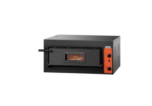 Bartscher Four pizza | 4,2 kW | 0 °C a 400 °C | 890 x 860 x 430 mm