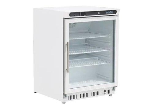 Polar Réfrigérateur | 150L | Porte vitré | 850(H) x 600(L) x 600(P)mm