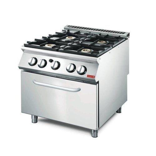 Cuisinières à gaz avec 2 à 4 brûleurs