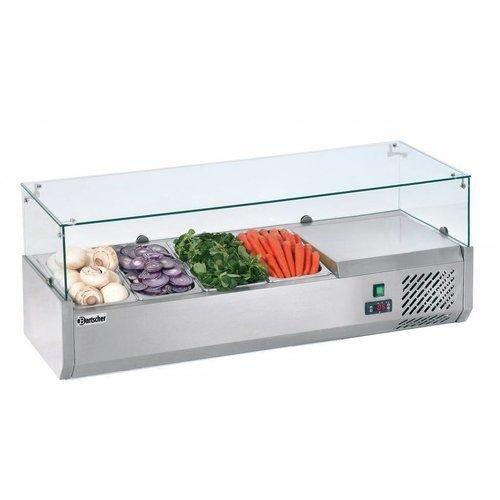 Armoires frigorifiques montées