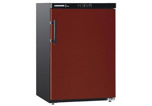 Liebherr Réfrigérateur à vin, porte aveugle Noir/Rouge 66 Bouteilles