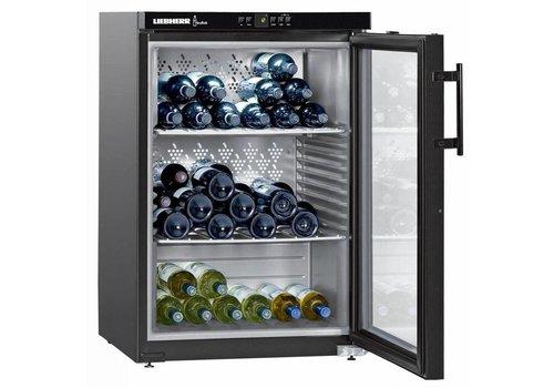 Liebherr Réfrigérateur à vin Noir 66 Bouteilles