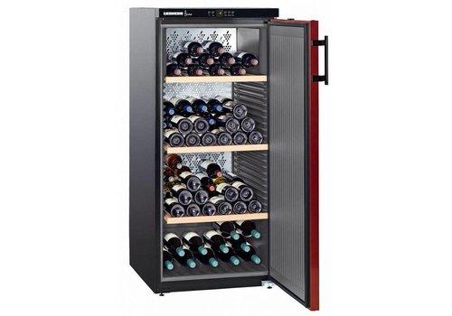 Liebherr Réfrigérateur à vin Noir/Rouge, 164 bouteilles