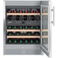 Armoire réfrigérée en acier inoxydable 34 bouteilles