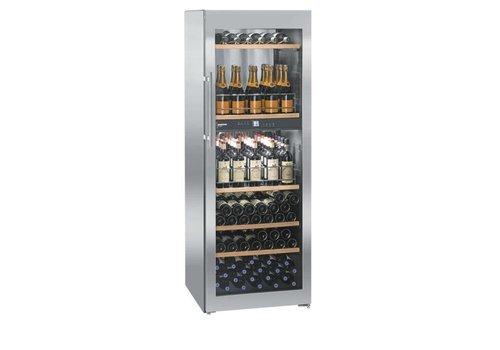Liebherr Rafraîchisseur à vin en acier inoxydable 155 bouteilles