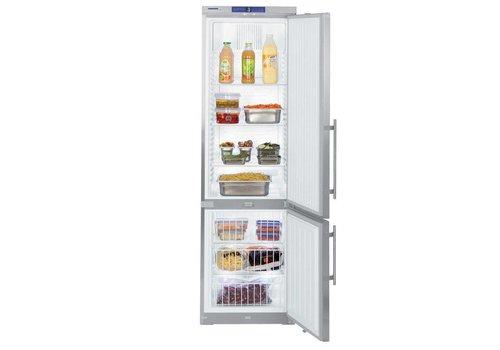 Liebherr GCv 4060 Combinaison réfrigération/congélation acier inoxydable | 107 L