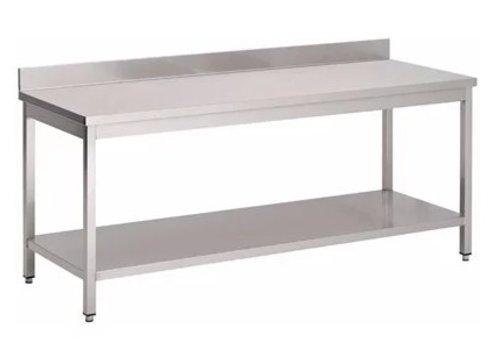 ProChef Table de travail en inox avec plateau | 8 Formats