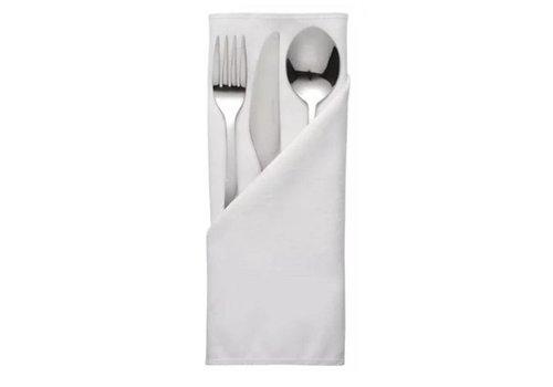 ProChef Serviette de table Polyester | 56 x 56cm | 3 couleurs