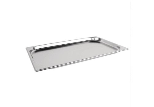 Vogue Bac Gastronorme inox GN 1/1 20mm