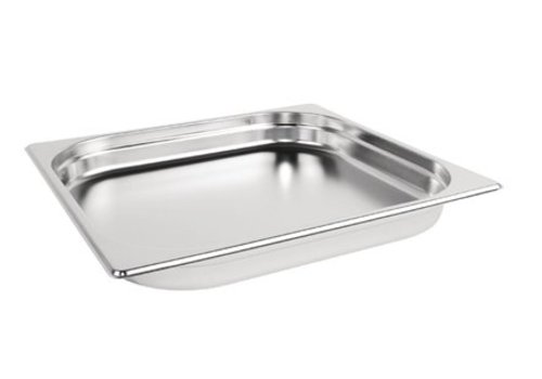 Vogue Bac Gastronorme inox GN 2/3 40mm