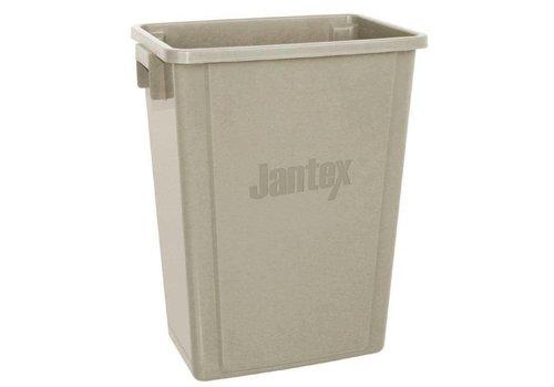 Jantex Bac de recyclage | Beige | 56 L