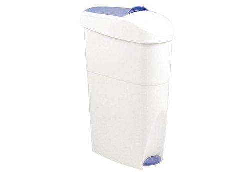 ProChef Poubelle à pédale en plastique | 18 litres