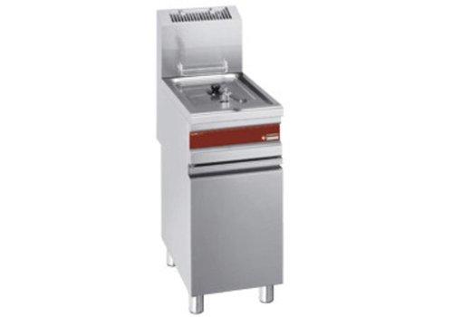 Diamond Friteuse à gaz 1 x 15 litres   375x650x845 mm   de 110°C à 190°C