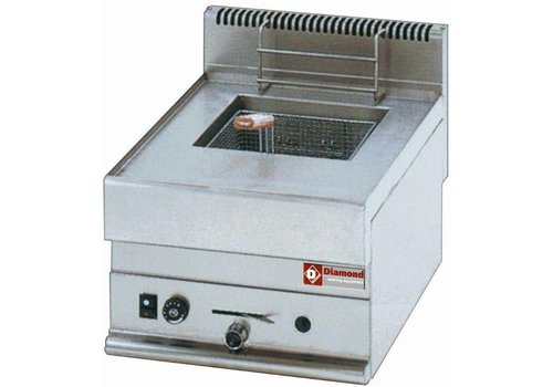 Diamond Friteuse 8 litres 5.4 kw | 400x650x(H)280 mm | entre 90°C et 190°C