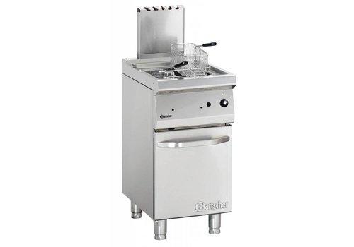 Bartscher Friteuse professionnelle à gaz - 15 litres   L 400 x P 700 x H 850-900 mm   15 kW