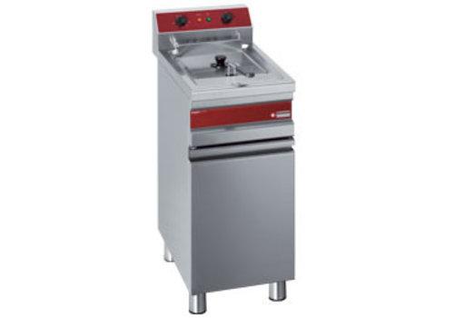 Diamond Friteuse électrique 1 cuve 14 litres sur armoire | 375x655x845 mm | 9 kW