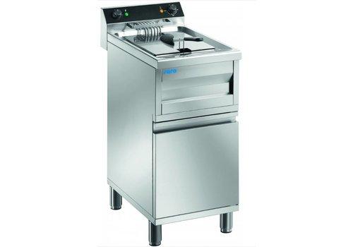 Saro Friteuse Sur Meuble Modèle Gastroline 12 litres | L400 x P700 x H850 mm | 9 kW
