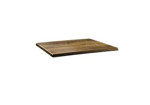 ProChef Plateau de table rectangulaire Classic Line atacama cherry 2 formats
