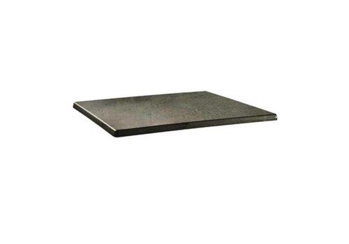 ProChef Plateau de table rectangulaire Classic Line béton