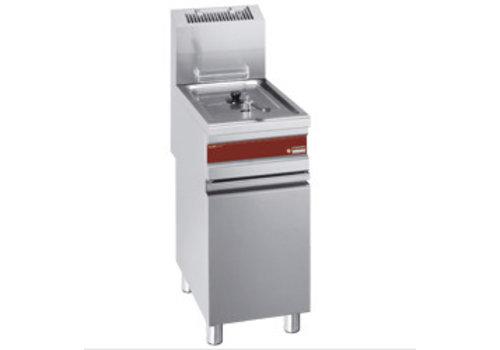 Diamond Friteuse gaz 1 cuve 15 litres sur armoire | 110°C à 190°C