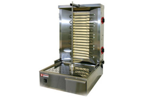 Diamond Gyros grill électrique 35 kg