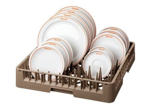 Bartscher Casier assiette/à plateaux 500x500x100