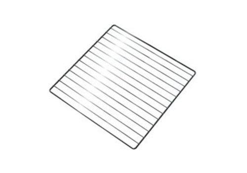 Bartscher Grille en acier inoxydable | 35,4 x 32,5 cm