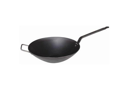De Buyer Poêle à wok professionnelle | 32 cm Ø