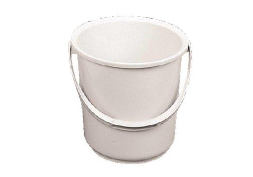 ProChef Seau en plastique blanc 10 litres