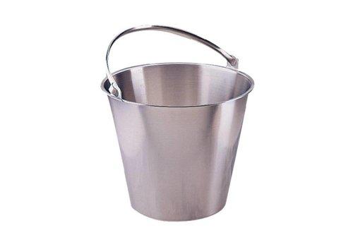 ProChef Seau en acier inoxydable | 12 litres
