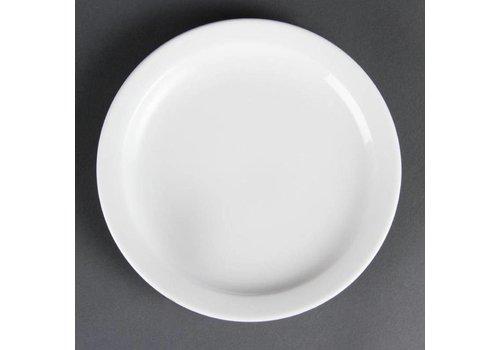 Olympia Petites assiettes en porcelaine avec bord étroit 20 cm (pièces 12)